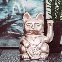 Lucky Cat Galaxy / Winkekatze / metallic