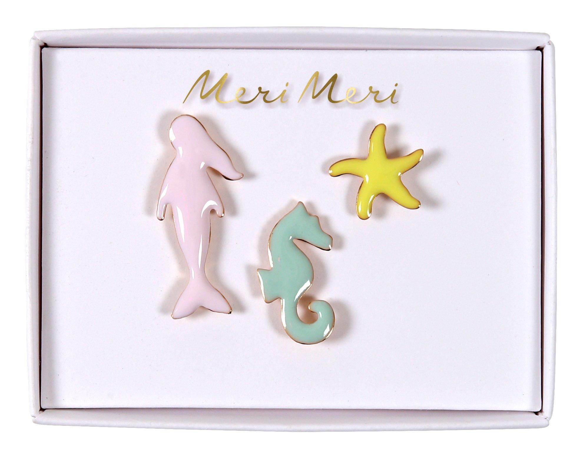 Meerjungfrauen Emaille Pins von Meri Meri bei 4D OUTFITTERS | 4D ...